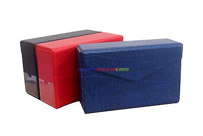 New Storage Box / Case For PMG Graded Banknote Paper Money Currency Holder Blue
