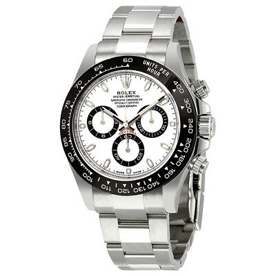 Rolex Cosmograph Daytona White Dial Stainless Steel Oyster Mens Watch 116500WSO
