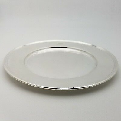 Tiffany & Co. Makers Sterling Silver ~6.5 In Cookie Saucer Bread Charger Plate