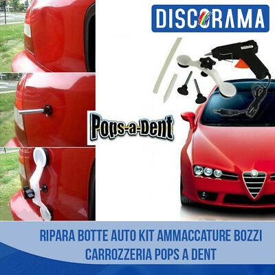 Ripara Botte Auto Kit Ammaccature Bozzi Carrozzeria Pops A Dent Visto In Tv Spg
