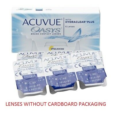 Acuvue Oasys 1х6 lenses (WITHOUT CARDBOARD PACKAGING)