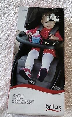 Britax B-Agile Child Tray For Models B-Agile 3 and 4 Stroller New in Box