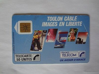 France Telecarte / Phonecard .. 50U - F22 Toulon Cable - Ut/be