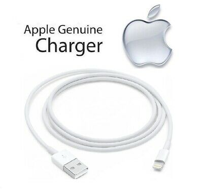 100% Genuine Original Apple iPad Air 2 - Lightning to USB Cable Charger (1m/2m)