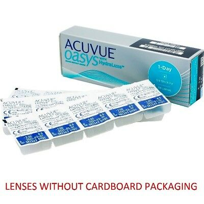 Acuvue Oasys 1 Day 1x30pk lenses (WITHOUT CARDBOARD PACKAGING)