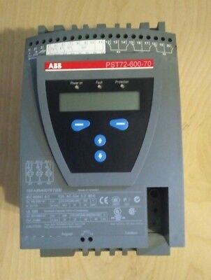 ABB Soft Start  *** PST 72-600-70 *** 208-600 vac 3 phase 72 amp 60 HP