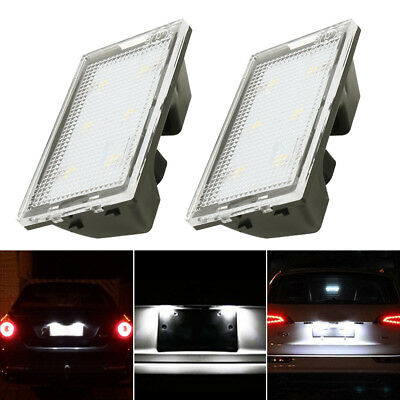 2X LED License Number Plate Light Lamp for Land Range Rover Discovery Sport L320