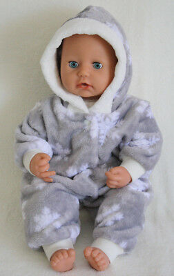 Puppenkleidung * Baby Annabell 44-46 cm * Winteroverall * neu * ohne Puppe