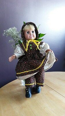 """Fits 18"""" American Girl Doll Clothes Cute 4 piece Country Girl Dress"""