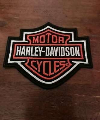 Toppe Patch Termoadesive Harley Davidson Cm 8,3X6,3Cm