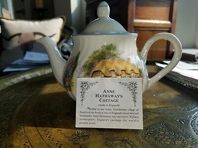 Arthur Wood & Son Teapot and Cup, Made in England #6293