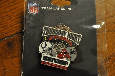 New England Patriots VS Indianapolis Colts Game Day Pin October 4, 2018
