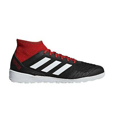 9bf5a860bb42 Adidas Predator Tango 18.3 Indoor Black White Red Indoor Soccer Shoes (  DB2128 )