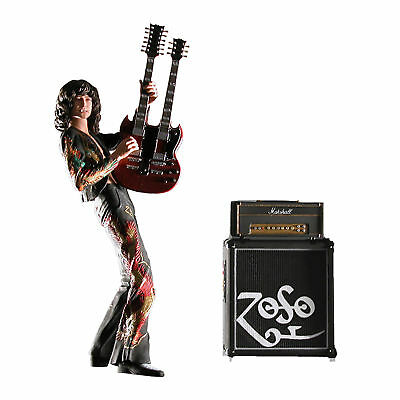 """Led Zeppelin Collectible: NECA 2006 Jimmy Page Dragon Suite 7"""" ZOSO Figure"""
