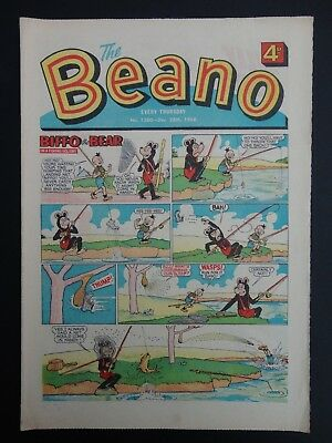 Beano Comic No. 1380, Dec 26-Jan 1st 1968/69,50th Birthday Present/Gift,VFN Copy