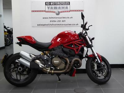 15 Reg Ducati Monster M 1200 1 Owner Full History Low Miles Immaculate