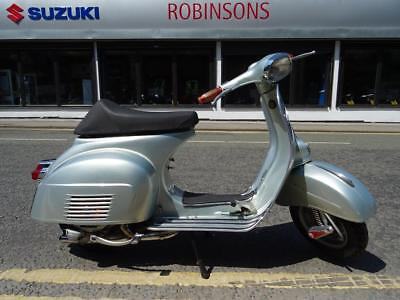 1967 Vespa Sprint 150 in silver, lovely example