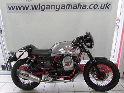 Moto Guzzi V7 Cafe Racer 61 Reg 16134 Miles, Ltd Edition Number 443, Quill Cans.