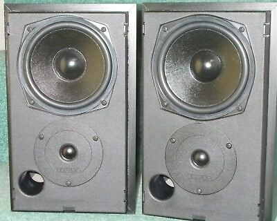 Mission 780i SEstand Mount Bookshelf Speakers Fantastic Condition Bi Wireable