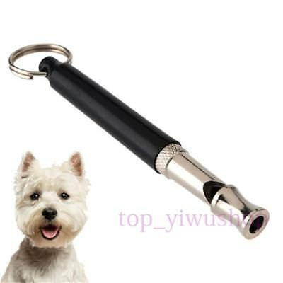 Pet Dog Training Silent Whistle UltraSonic SuperSonic Adjustable Pitch 80mm TO