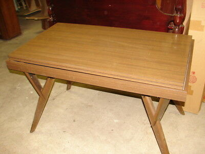 Vtg Castro Convertible Coffee/Dining /Desk Table circa 1950 Mid Century Modern