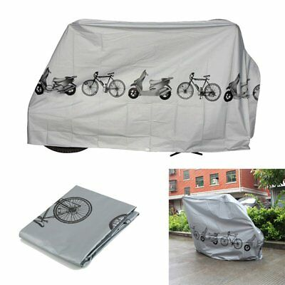 Waterproof Rain Storage Dust Cover Outdoor Protector For Bike Bicycle Cycling UY