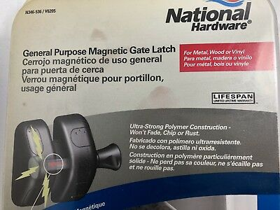 General Purpose Magnetic Gate Latch National Hardware Magna Latch Side Pull