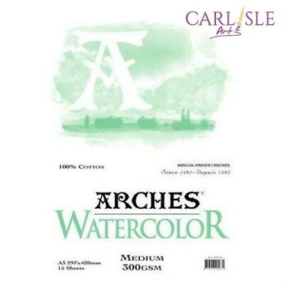 Arches Watercolour Pads. Choose your Size and Grade