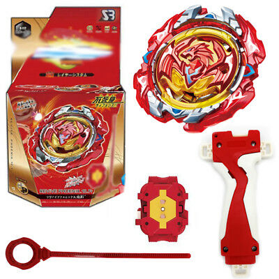 Beyblade Burst B-117 REVIVE PHOENIX.10Fr w/ Launcher + Grip Top Kid Gift Metal
