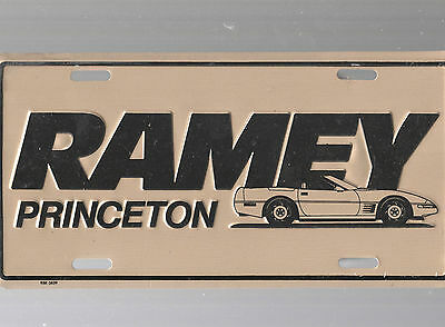 Ramey Auto Dealership License Plate Car Tag-Princeton, West Virginia
