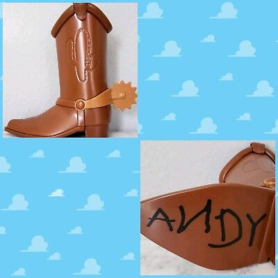 SOLD OUT Pixar Fest Exclusive Toy Story Woody Souvenir Boot
