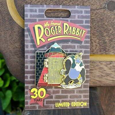 Who Framed Roger Rabbit Door Pin 2018 Disney Parks 30th Anniversary LE 2500