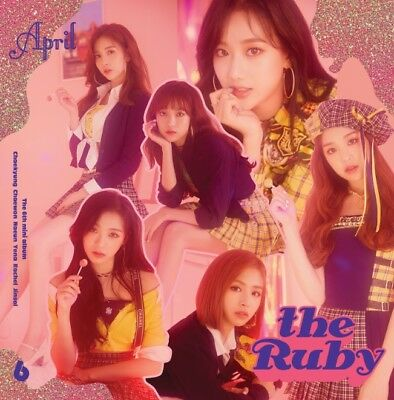 APRIL [THE RUBY] 6th Mini Album CD+POSTER+Photo Book+Mini Poster+2p Card SEALED