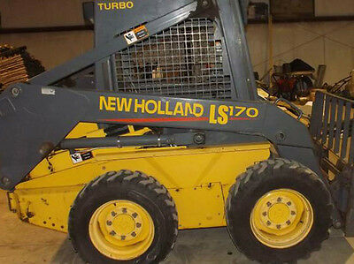 New Holland LS170 Skid Steer DECAL KIT for your loader, LS 170  FREE SHIPPING