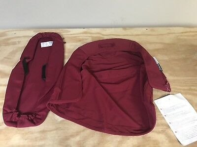 Bugaboo Donkey 2 Sun Canopy And Basket Cover Ruby Red, New Out Of Box