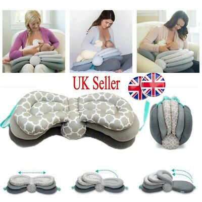 UK Adjustable Nursing Breastfeeding Baby Support Cushions Breast Feeding Pillows