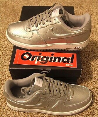 Brand New DS Nike Air Force 1 '07 Low Silver/Chrome - Size 9.5