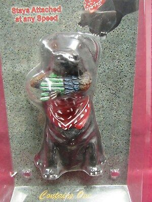 Black Lab Bobble Head Trailer Ball Cover Fits 1 7/8 or 2 in Balls- FREE SHIP