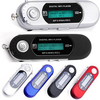 Portable Cheap USB Digital MP3 Music Player LCD Display Support 32GB SD FM Radio