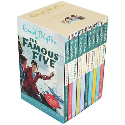 The Famous Five Book Set - Books 1-10 (Paperback), Children's Books, Brand New