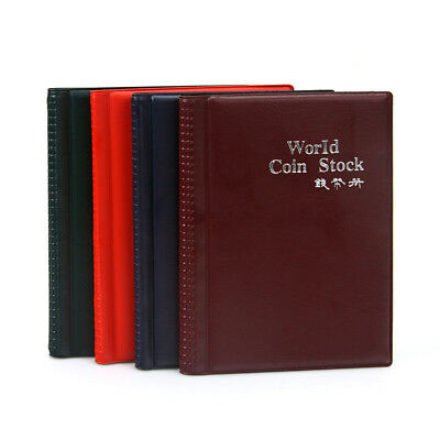 Penny Money Book Pockets Holder Slots Storage Collecting Coin Album Folder 120