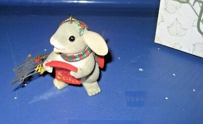 Charming Tails by Fitz & Floyd - Fa La La Christmas Ornament 86/109 - Mouse