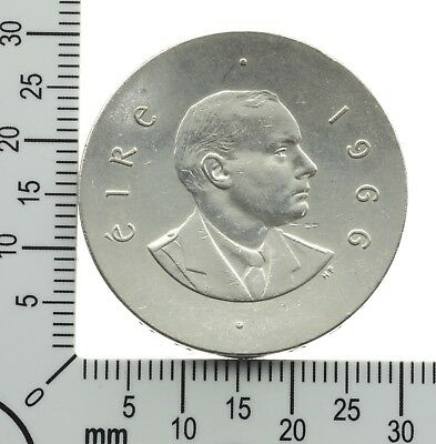 Irland: 10 Scilling 1966 - Silber