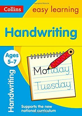 Handwriting Ages 5-7 (Collins Easy Learning KS1), Collins Easy Learning, New, Bo