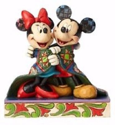 Jim Shore Disney Warm Wishes Mickey And Minnie Mouse with Quilt Figurine 4057937