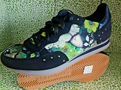 4ba6b66e5185 NEW! SKECHERS Womens OG 98 FLORAL GARDEN PARTY NAVY FASHION SNEAKERS SHOES  8.5 M