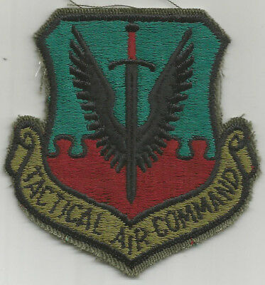 USAF Tactical Air Command (TAC) Subdued Patch - NOS