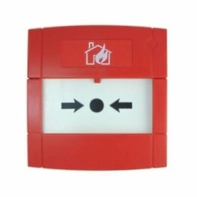 KAC Conventional Red Surface Flush Mounted Call Point Indoor Fire Alarm