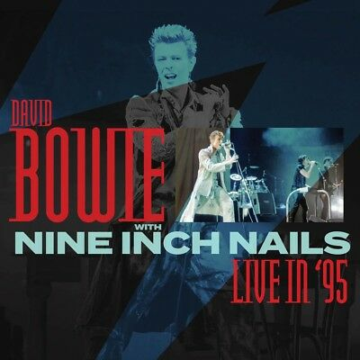 DAVID BOWIE WITH NINE INCH NAILS - Live In '95. New 3CD Box + Sealed. **NEW**