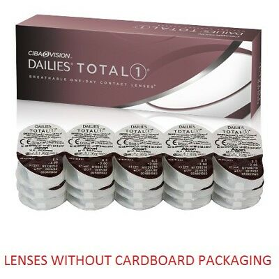 Dailies Total1 1x30pk lenses (WITHOUT CARDBOARD PACKAGING)